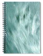 Wave Light Spiral Notebook