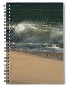 Wave Of Light - Jersey Shore Spiral Notebook