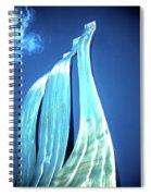 Wave Of Weiden Spiral Notebook