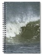 Wave Study Spiral Notebook