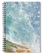 Wave Tube Along Shore Spiral Notebook
