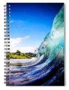 Wave Wall Spiral Notebook