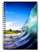 Wave Wall Spiral Notebook