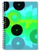 Wave Spiral Notebook