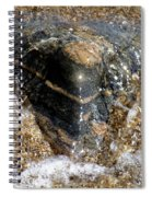 Wavelet Caress Spiral Notebook