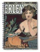 Waverley Cycles - Paris 1898 Spiral Notebook
