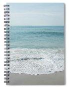 Waves And Assateague Beach Spiral Notebook