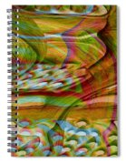 Waves And Patterns Spiral Notebook