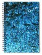 Waves Of Blue Spiral Notebook