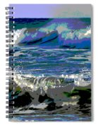 Waves Of Delight Spiral Notebook