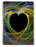 Waves Of Love - Romance Spiral Notebook