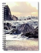 Waves Of Time Spiral Notebook