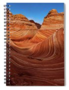 Wavescape Spiral Notebook