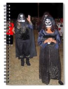 Waving Ghoul Cinematographer Halloween Casa Grande Arizona 2004 Spiral Notebook