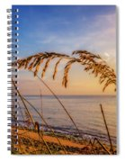 Waving In The Salty Breeze Spiral Notebook