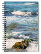 Sea Waves ...  Spiral Notebook