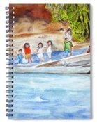 Waving To Tourist Spiral Notebook
