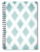 Wavy Light Teal Braids Spiral Notebook