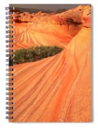 Wavy Sunset Curves Spiral Notebook