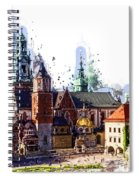 Wawel Castle Cracow Spiral Notebook