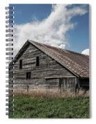 Way Of Life - Weathered Barn In Kansas Spiral Notebook