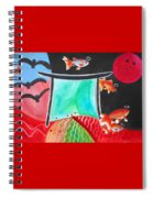 Way Of The Fish Saints Spiral Notebook