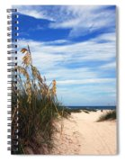 Way Out To The Beach Spiral Notebook