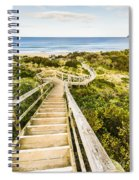 Way To Neck Beach Spiral Notebook