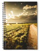 Way To Policemans Point Tasmania Spiral Notebook