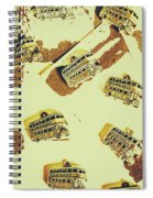 Wayback England Spiral Notebook