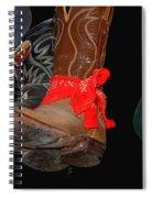 Waylon Jennings Boots Spiral Notebook