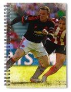 Wayne Rooney Is Marshalled Spiral Notebook
