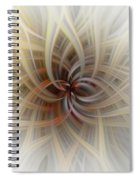 We Are All Connected Soft Abstract  Spiral Notebook