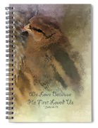 We Are Family - Verse Spiral Notebook