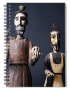 We Are From The Church And We Are Here To Help  Spiral Notebook