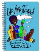We Are Israel Spiral Notebook