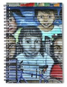 We Are The World Spiral Notebook