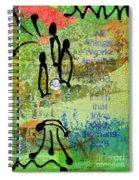 We Believe Romans 8 28 Spiral Notebook