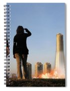 We Have Lift-off Spiral Notebook