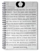 We Hold These Truths.... Spiral Notebook