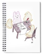 We The Peeps Spiral Notebook