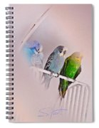 We Three Birds Spiral Notebook