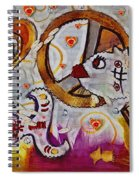 We Wont You To Clean Our Water With Love Spiral Notebook