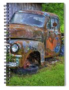 Wears Valley 1954 Gmc Wears Valley Tennessee Art Spiral Notebook