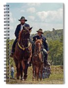 Weary Union Soldiers Spiral Notebook