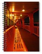 Weather Deck Starboard Side Night Spiral Notebook