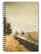 Weather Roads Spiral Notebook
