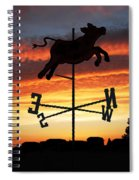 Weather Vane  Spiral Notebook