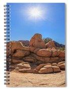 Weather Worn Rock Bowl Spiral Notebook
