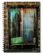 Weatherd Entry Spiral Notebook